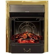 Электроочаг RealFlame Majestic Lux Brass